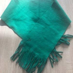 Add-On Item - NWOT - Green Scarf with Fringe